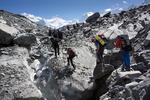 Восхождение на Белуху через перевал Делоне