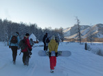Новый год у Белухи, на Высотнике